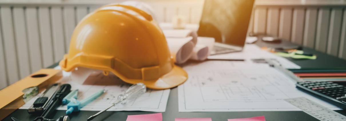 construction desk