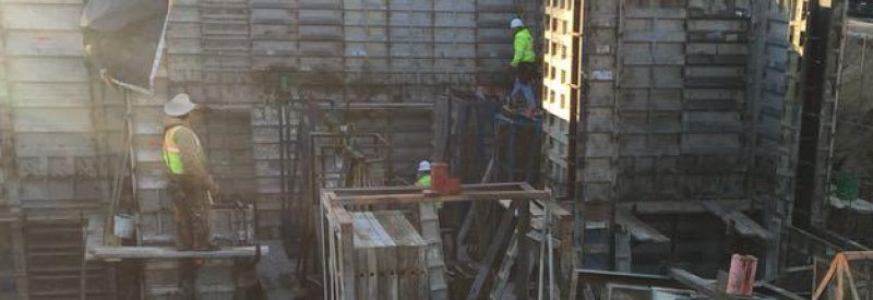 construction workers on job site