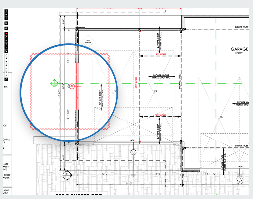 buildtools plan redlining screenshot